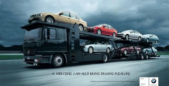 Рекламные фото креативной войны брендов - №23