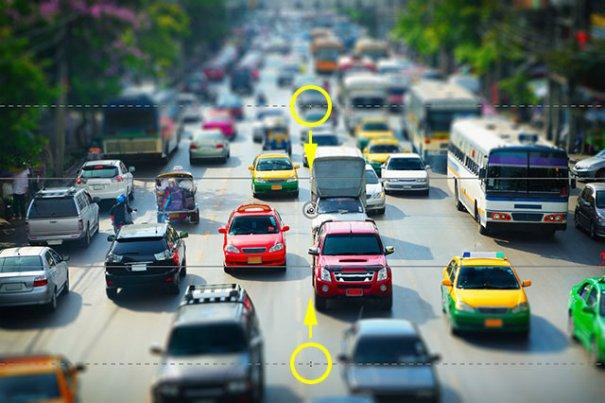 Урок Фотошопа. Качественная имитация Tilt-Shift эффекта - №14