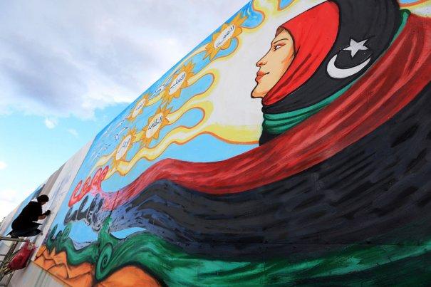 Новости в фотографиях - Ливия после революции - №2