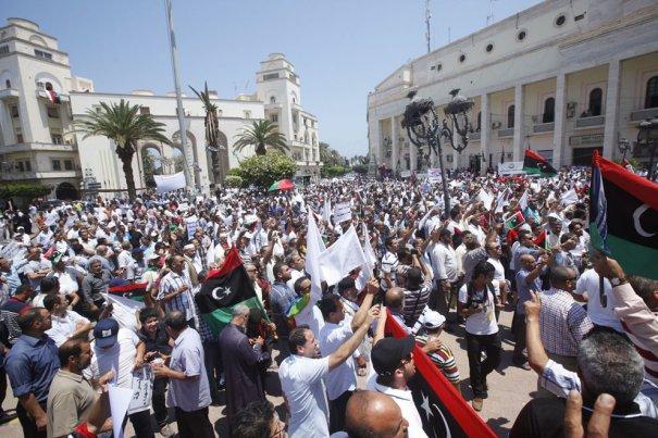 Новости в фотографиях - Ливия после революции - №4