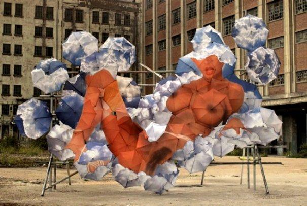 Зонтики как искусство - необычные фото картины - №6