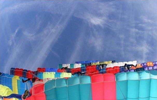 Самые сложные фигуры парашютизма - фото экстремального вида спорта - №2