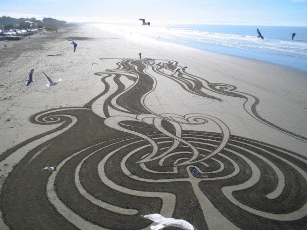 смотреть рисунки песком
