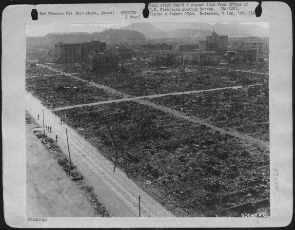Новости в фотографиях - страшные кадры в память о Хиросиме - №11