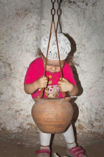 Дивногорье 2013 г.   Вот таким не хитрым образом варили кашу древние Печенеги
