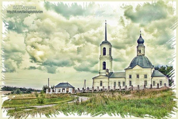 Задонск 2013г. Храм влм Дмитрия Соровского (Эксперименты в Фотошоп)