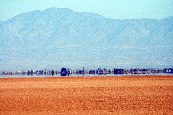 мираж в пустыне фото