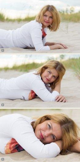 Позы для фотографий женские 1 пример