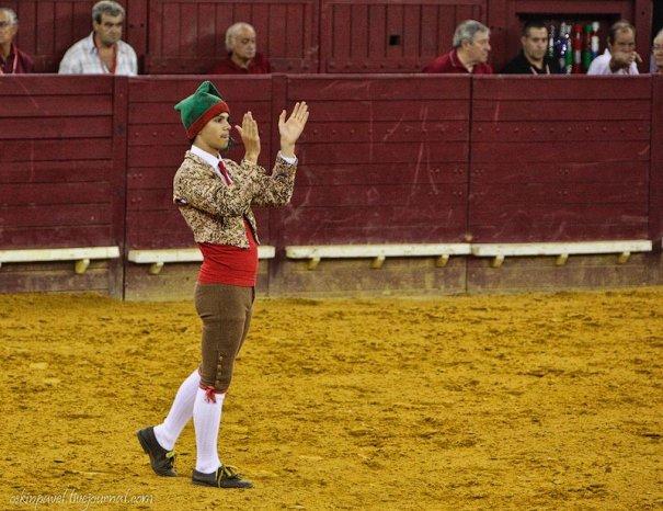 Новости в фотографиях - интересные факты о португальской корриде - №5