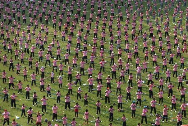 Новости в фотографиях - самые смелые попытки установить новый рекорд Гиннеса в 2013 году - №5