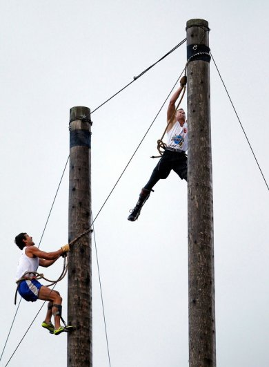 Новости в фотографиях - самые смелые попытки установить новый рекорд Гиннеса в 2013 году - №13