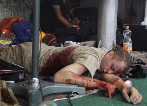 Новости в фотографиях - в Египте введено чрезвычайное положение - №6