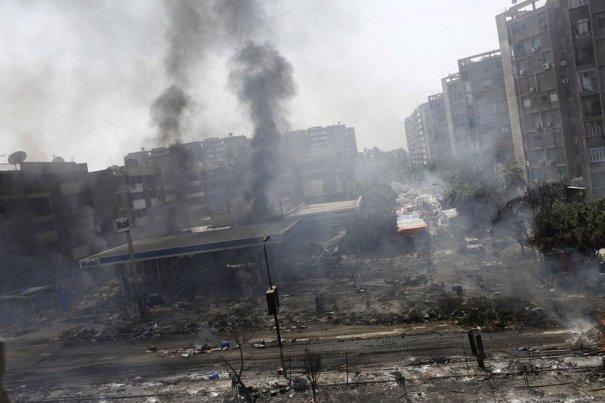 Новости в фотографиях - в Египте введено чрезвычайное положение - №13
