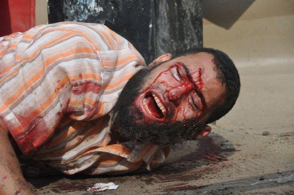 Новости в фотографиях - в Египте введено чрезвычайное положение - №15