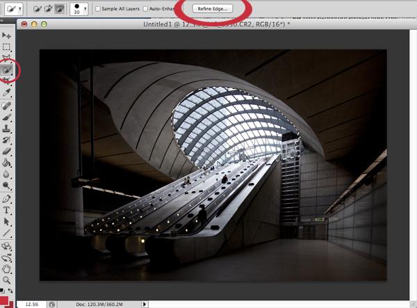 Урок Фотошопа. Обработка архитектурных фотографий - №11