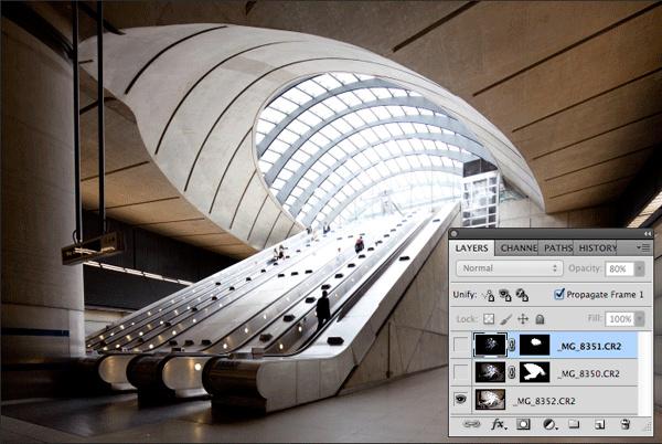 Урок Фотошопа. Обработка архитектурных фотографий - №16