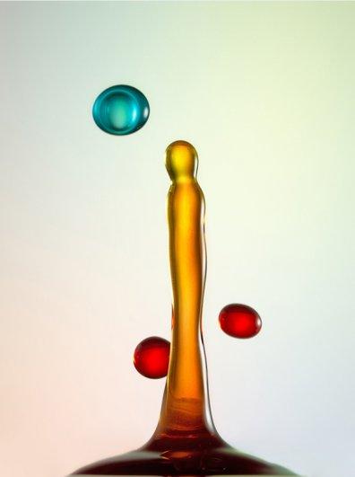 Капли - удивительная фото съемка Хайнца Майера (Heinz Maier) - №6