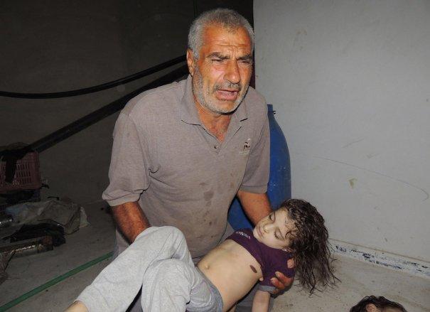Новости в фотографиях - Газовая атака в Сирии - №4