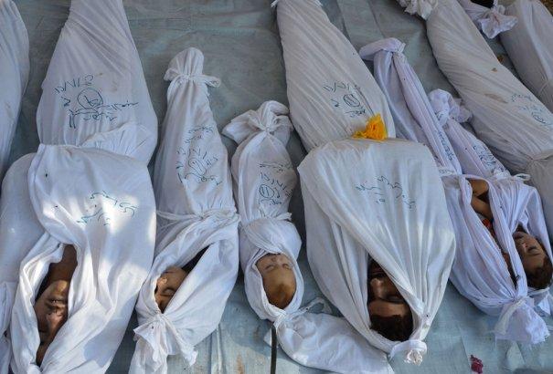 Новости в фотографиях - Газовая атака в Сирии - №5