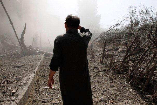 Новости в фотографиях - Газовая атака в Сирии - №6