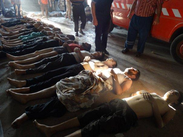 Новости в фотографиях - Газовая атака в Сирии - №8