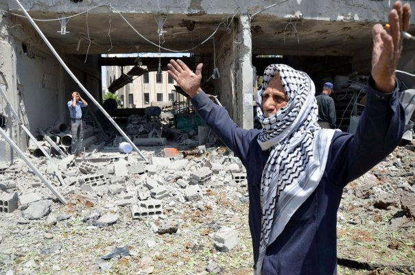 Новости в фотографиях - Газовая атака в Сирии - №9