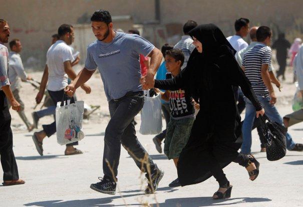 Новости в фотографиях - Газовая атака в Сирии - №10