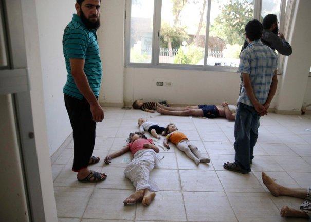 Новости в фотографиях - Газовая атака в Сирии - №11