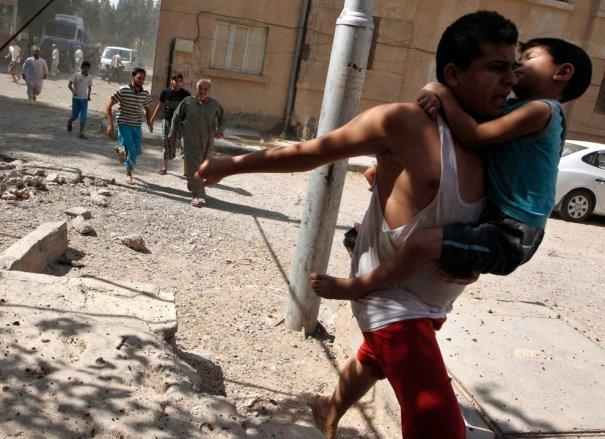 Новости в фотографиях - Газовая атака в Сирии - №12