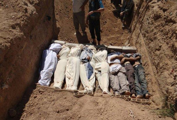 Новости в фотографиях - Газовая атака в Сирии - №13
