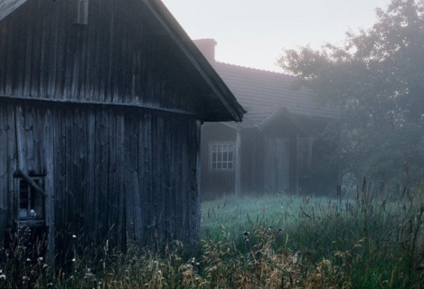 Интересные фото заброшенных лесных домиков - №2
