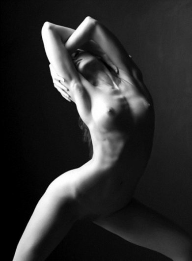 красивое женское тело