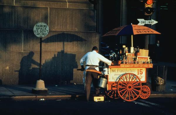 Эрнст Хаас (Ernst Haas). Первые работы мастера в цветной фотографии - №5