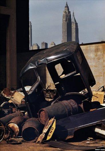 Эрнст Хаас (Ernst Haas). Первые работы мастера в цветной фотографии - №8