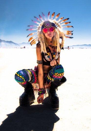 Волны креатива в красивых фото с фестиваля Burning Man - №1