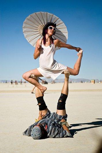 Волны креатива в красивых фото с фестиваля Burning Man - №3