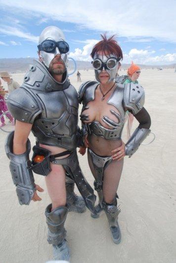 Волны креатива в красивых фото с фестиваля Burning Man - №6