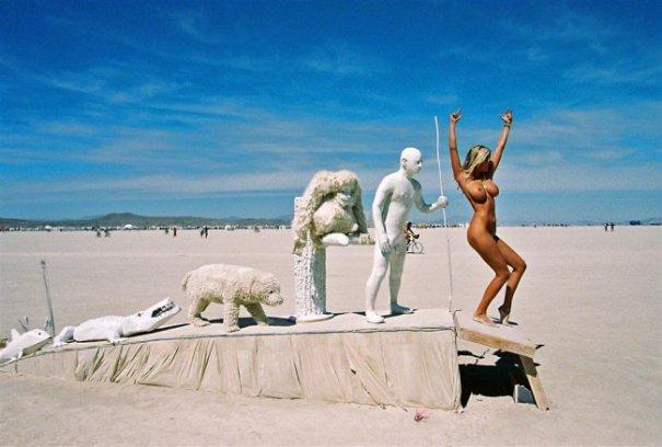 Волны креатива в красивых фото с фестиваля Burning Man - №9