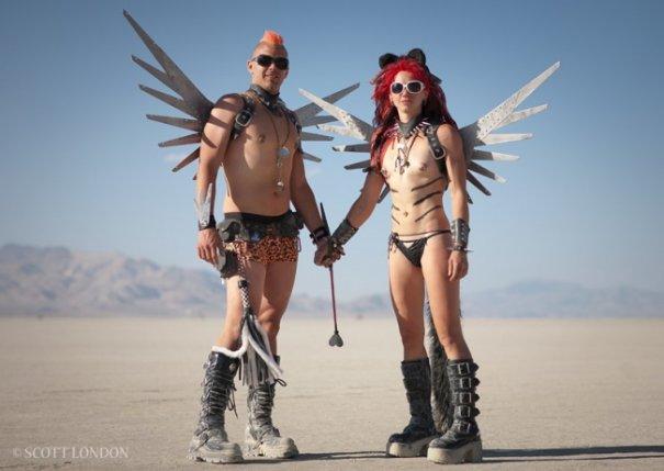 Волны креатива в красивых фото с фестиваля Burning Man - №10