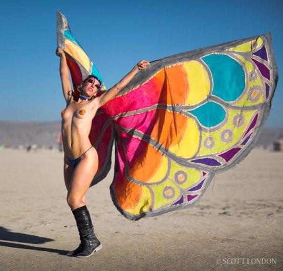 Волны креатива в красивых фото с фестиваля Burning Man - №11