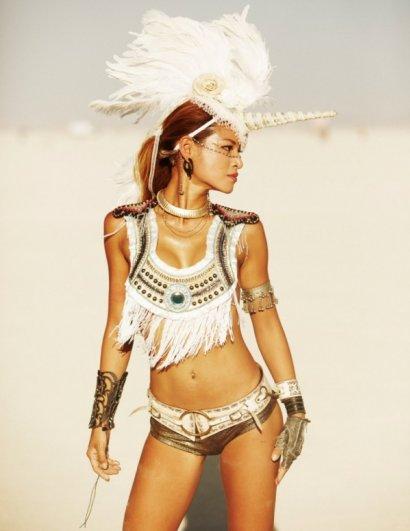 Волны креатива в красивых фото с фестиваля Burning Man - №13