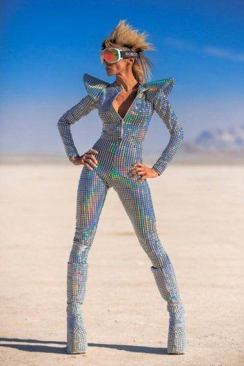 Волны креатива в красивых фото с фестиваля Burning Man - №16