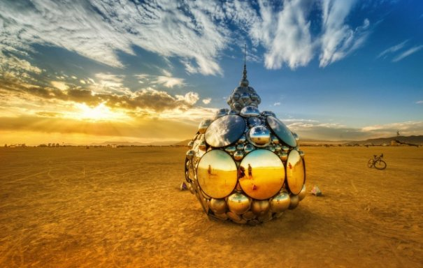 Волны креатива в красивых фото с фестиваля Burning Man - №23