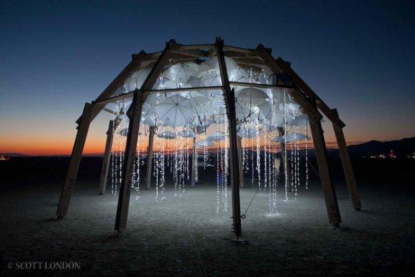 Волны креатива в красивых фото с фестиваля Burning Man - №25