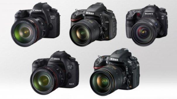 Сравнение полнокадровых зеркальных фотоаппаратов - №1