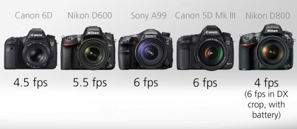 Сравнение полнокадровых зеркальных фотоаппаратов - №5