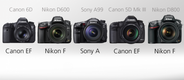 зеркальные фотоаппараты nikon