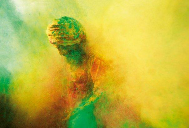 Новости в фотографиях - Фестиваль красок Холи - №6