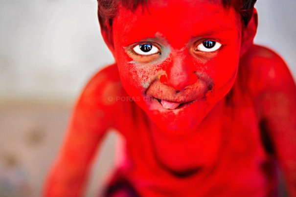 Новости в фотографиях - Фестиваль красок Холи - №8
