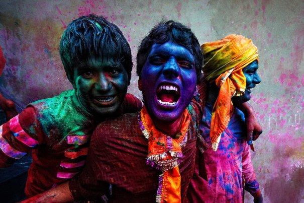 Новости в фотографиях - Фестиваль красок Холи - №10